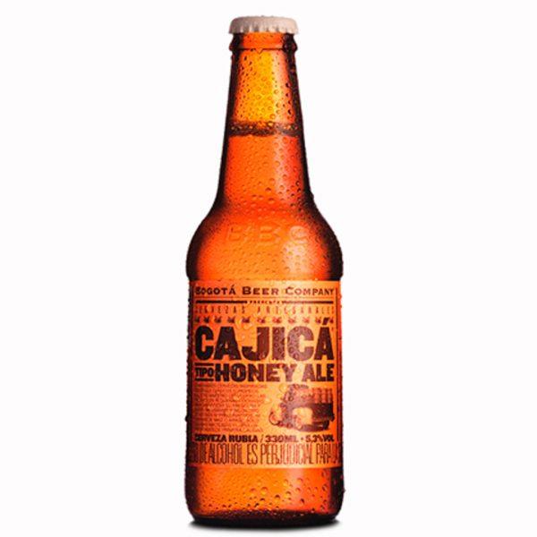 imagen cerveza Cajica miel