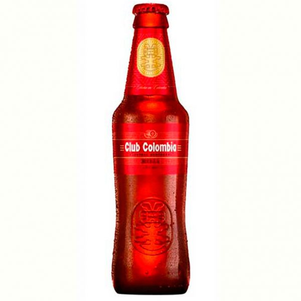 imagen cerveza Club Colombia roja